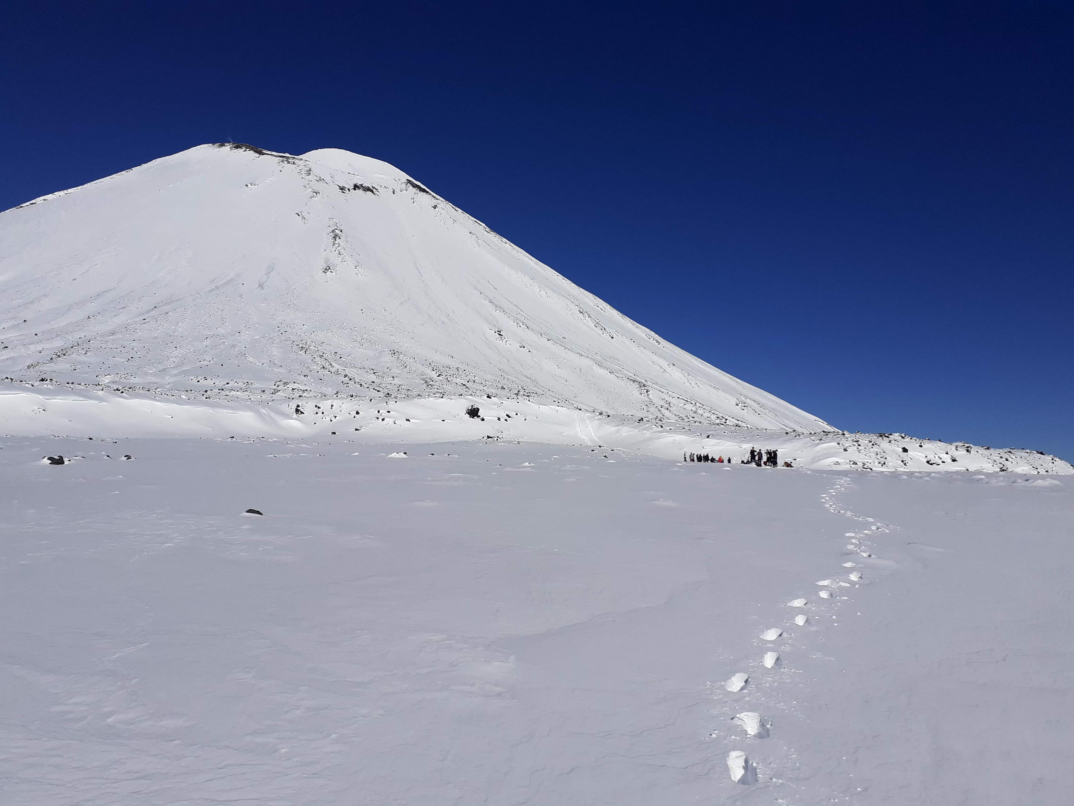 Tongariro Crossing Winter